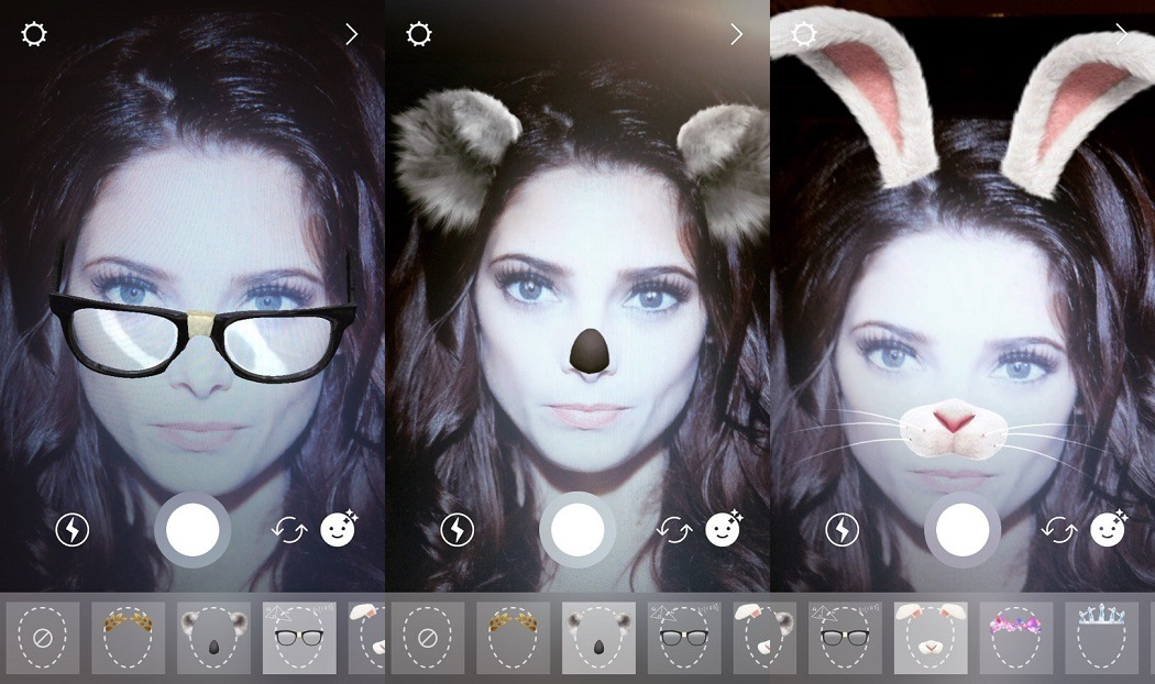 Коллаж из масок в Инстаграм