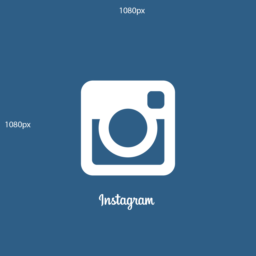 логотип инстаграмма на синем фоне вк