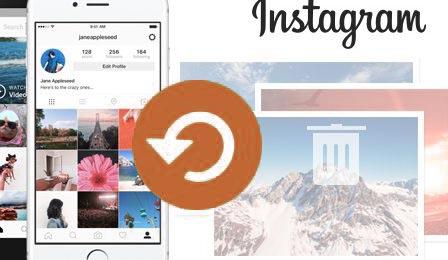 как восстановить фото в инстаграм